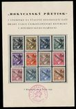 29414 / 1550 - Philately / Czechoslovakia 1945-1992 / Revolutionary Overprints 1944-1945