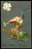 29923 / 3681 - Picture Postcards / Theme / Personification, creatures, cartoons