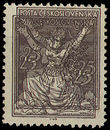 32773 / 357 - Philately / Czechoslovakia 1918-1939 / Chainbreaker Issue 1920