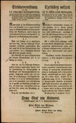34167 / 4315 - Historical Documents, Maps / Circulars, Bulletins
