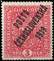 35426 / 252 - Philately / Czechoslovakia 1918-1939 / Posta Ceskoslovenska 1919 Overprint Issue