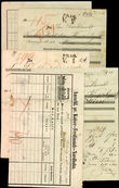 35606 / 4317 - Historical Documents, Maps / Circulars, Bulletins