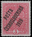 36669 / 254 - Philately / Czechoslovakia 1918-1939 / Posta Ceskoslovenska 1919 Overprint Issue