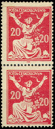 36901 / 355 - Philately / Czechoslovakia 1918-1939 / Chainbreaker Issue 1920