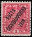 38004 / 253 - Philately / Czechoslovakia 1918-1939 / Posta Ceskoslovenska 1919 Overprint Issue