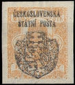 38039 / 33 - Philately / Czechoslovakia 1918-1939 / Revolutionary 1918