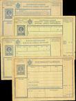 42231 / 3580 - Philately / Europe / Austria / Forms