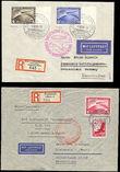 42780 / 2569 - Philately / Europe / Germany / Zeppelin, catapult