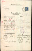 42909 / 3584 - Philately / Europe / Austria / Forms