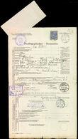 43321 / 3579 - Philately / Europe / Austria / Forms