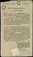 43904 / 4471 - Historical Documents, Maps / Circulars, Bulletins