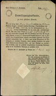 43905 / 4472 - Historical Documents, Maps / Circulars, Bulletins