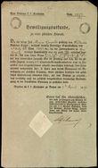 43905 / 4472 - Historical Documents, Maps / Circulars, Bulletins