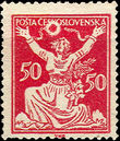 44041 / 424 - Philately / Czechoslovakia 1918-1939 / Chainbreaker Issue 1920