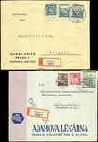 44502 / 1016 - Philately / Protectorate Bohemia-Moravia / Forerunners