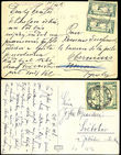 45491 / 3 - Philately / Czechoslovakia 1918-1939 / Forerunners 1918-1919