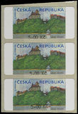 48233 / 0 - Philately / Czech Republic / Machine Stamps
