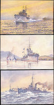 49688 / 3355 - Picture Postcards / Theme / Ships and Boats, Submarines