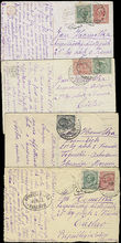 50816 / 1947 - Philately / Other Philatelic Domains / Field Post / Czechoslovakia 1918-39 / Czechoslovak legions