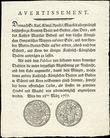 50959 / 3531 - Historical Documents, Maps / Circulars, Bulletins