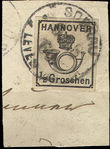 51207 / 2374 - Philately / Europe / Germany / German states / Hanover