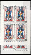 51608 / 1705 - Philately / Slovakia since 1993 / Stamps