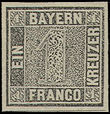 52142 / 2370 - Philately / Europe / Germany / German states / Bavaria