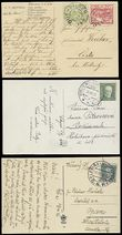 54267 / 1758 - Philately / Other Philatelic Domains / Train Post / Czechoslovakia 1918-39