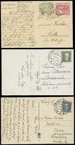 54267 / 1758 - Philately / Other Philatelic Domains / Train Post / Czechoslovakia 1918-39