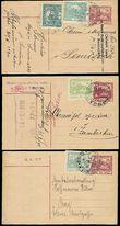 56410 / 1756 - Philately / Other Philatelic Domains / Train Post / Czechoslovakia 1918-39