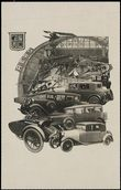57717 / 3809 - Picture Postcards / Theme / Cars, Motorcycles, Wains