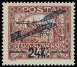59447 / 607 - Philately / Czechoslovakia 1918-1939 / Air Stamps