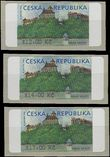 61349 / 0 - Philately / Czech Republic / Machine Stamps