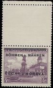 62504 / 745 - Philately / Protectorate Bohemia-Moravia / Overprint Issue