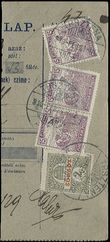 62849 / 7 - Philately / Czechoslovakia 1918-1939 / Forerunners 1918-1919
