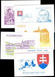 68383 / 1509 - Filatelie / Slovensko 1993 / Sešitky