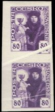 68779 / 389 - Philately / Czechoslovakia 1918-1939 / Hussite Issue 1920
