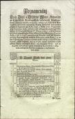 70099 / 3064 - Historical Documents, Maps / Circulars, Bulletins