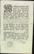 70614 / 3063 - Historical Documents, Maps / Circulars, Bulletins