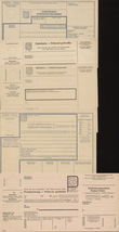 71362 / 903 - Philately / Protectorate Bohemia-Moravia / Postal Stationery B. and M. / Forms