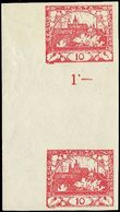 72135 / 26 - Filatelie / ČSR I. / Hradčany 1918 - nezoubkované