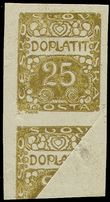73700 / 507 - Philately / Czechoslovakia 1918-1939 / Postage Due Stamps