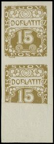 73701 / 506 - Philately / Czechoslovakia 1918-1939 / Postage Due Stamps