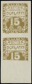 73701 / 506 - Philately / Czechoslovakia 1918-1939 / Postage Due Stamps