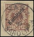 73922 / 2029 - Philately / Europe / Germany / German off. abroad / German Colonies