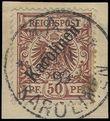 73922 / 2029 - Philately / Europe / Germany / German off. abroad / German Colonies