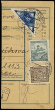 74411 / 827 - Philately / Protectorate Bohemia-Moravia / OT, Delivery Stamps