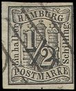 74842 / 1885 - Philately / Europe / Germany / German states / Hamburg