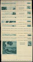 75811 / 888 - Philately / Protectorate Bohemia-Moravia / Postal Stationery B. and M. / Postcards