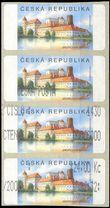 75917 / 1363 - Philately / Czech Republic / Machine Stamps